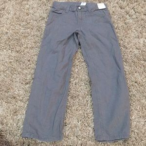 Gymboree boys pants size 6 NWT